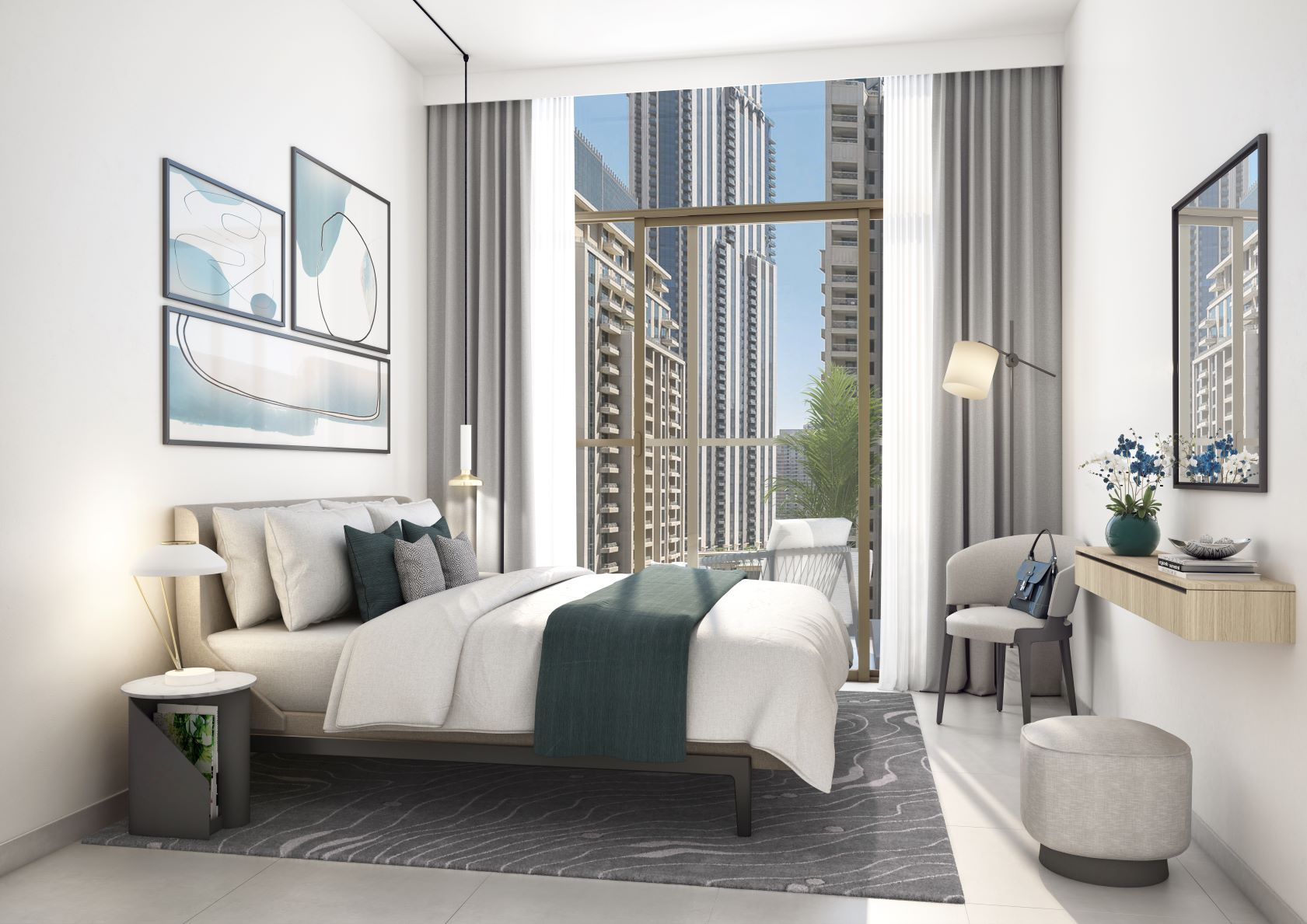 Burj Crown_Master Bedroom_M