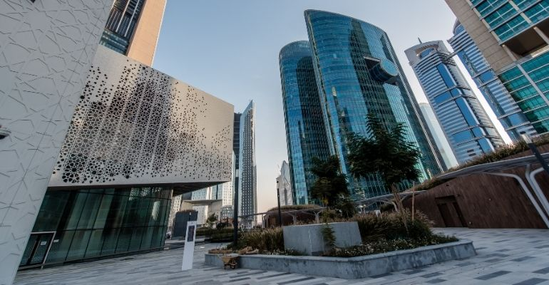 DIFC commercial offices