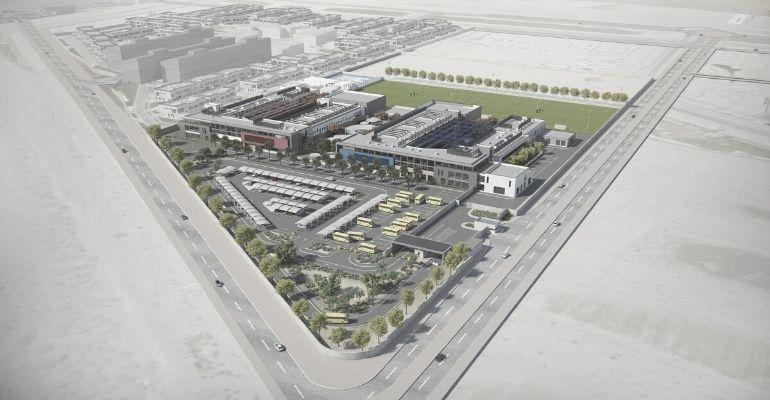 1 ISG Aerial_Master Plan_Front