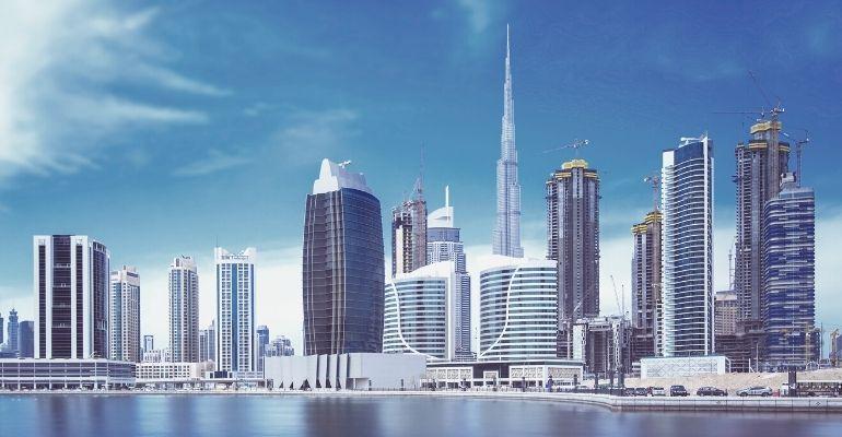 Dubai Economy Skyline