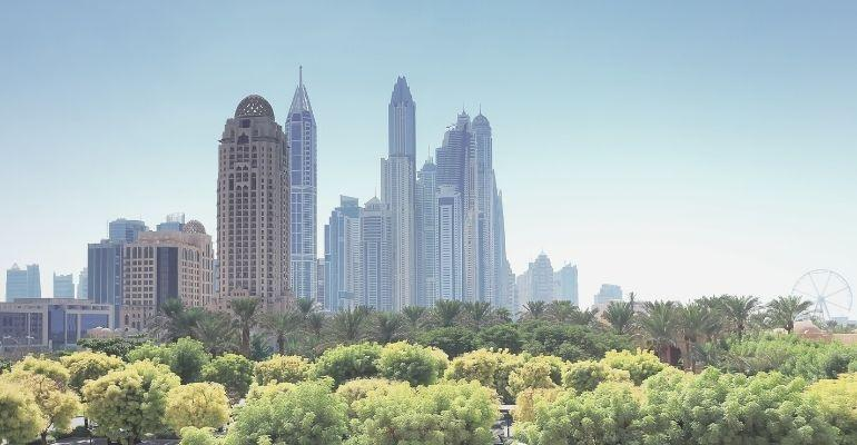 DubaiDowntownGreenView