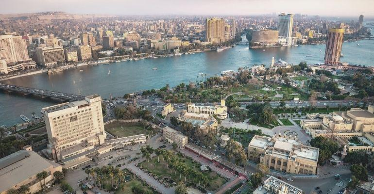 EgyptCairoAerialView
