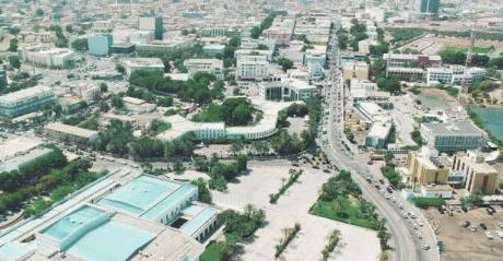 Djibouti Aerial View