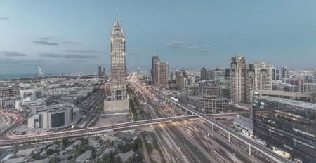 DubaiSkylineEveningView