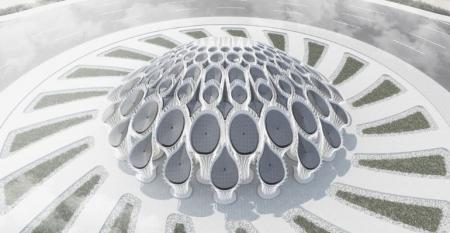 Expo2020 3d printing roundabout