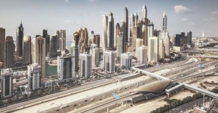New Dubai skyline